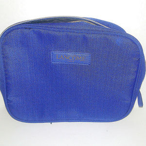 Lancome Blue Cosmetic Bag Womens Travel Purse